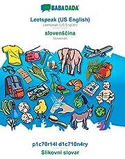 BABADADA, Leetspeak (US English) - slovensčina, p1c70r14l d1c710n4ry - Slikovni slovar: Leetspeak (US English) - Slovenian, visual dictionary