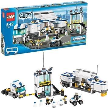 Lego City 7743 Polizei überwachungswagen Amazonde Spielzeug