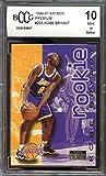 #7: 1996-97 skybox premium #203 KOBE BRYANT los angeles lakers rookie BGS BCCG 10 Graded Card