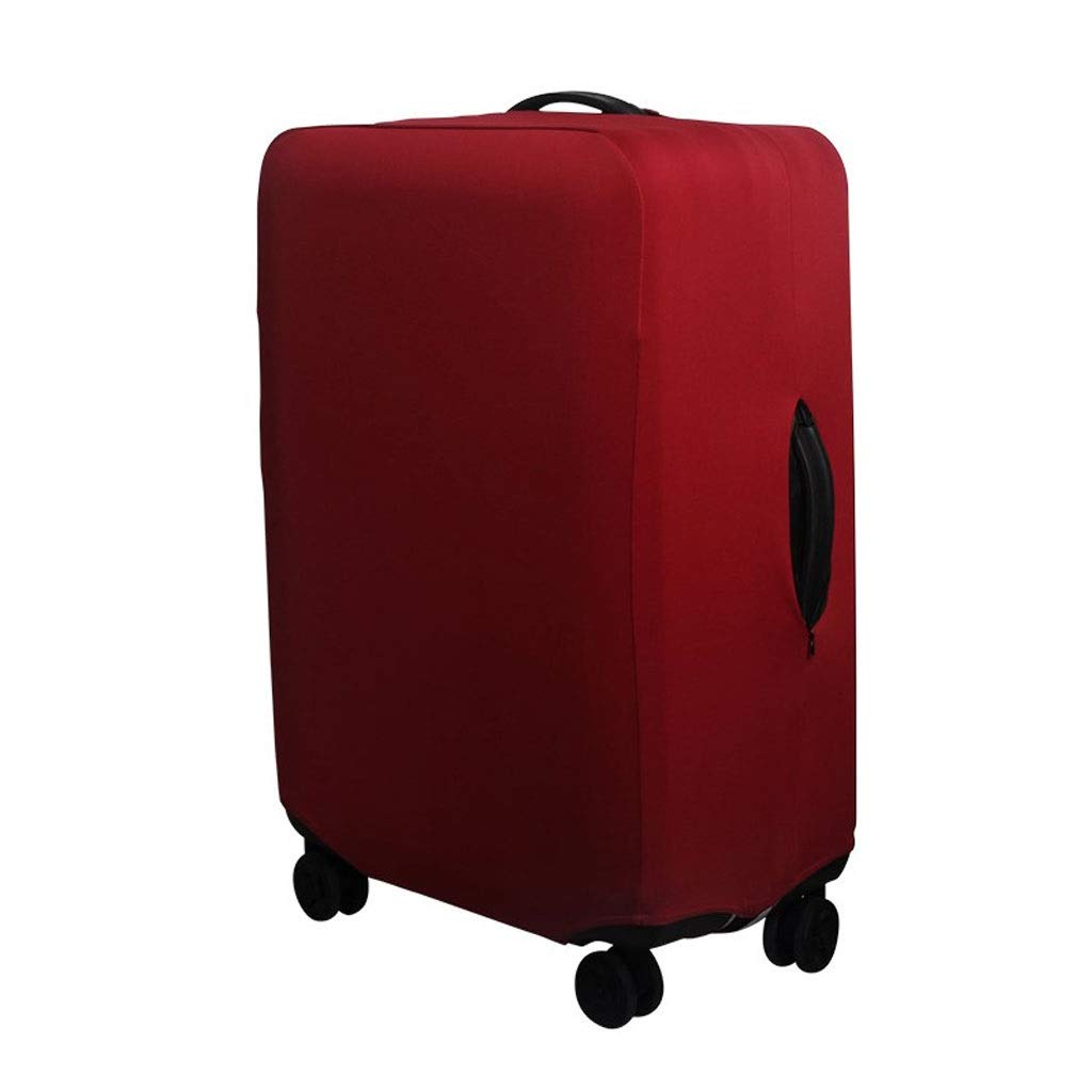 One-Character red Wine Size : S Trolley case Suitcase Cover The Fabric is Firm and Unbreakable Suitcase Sleeve Cover Dust-Proof,Wear Protection,No Odor,Spandex Luggage Protector 24-42 inches