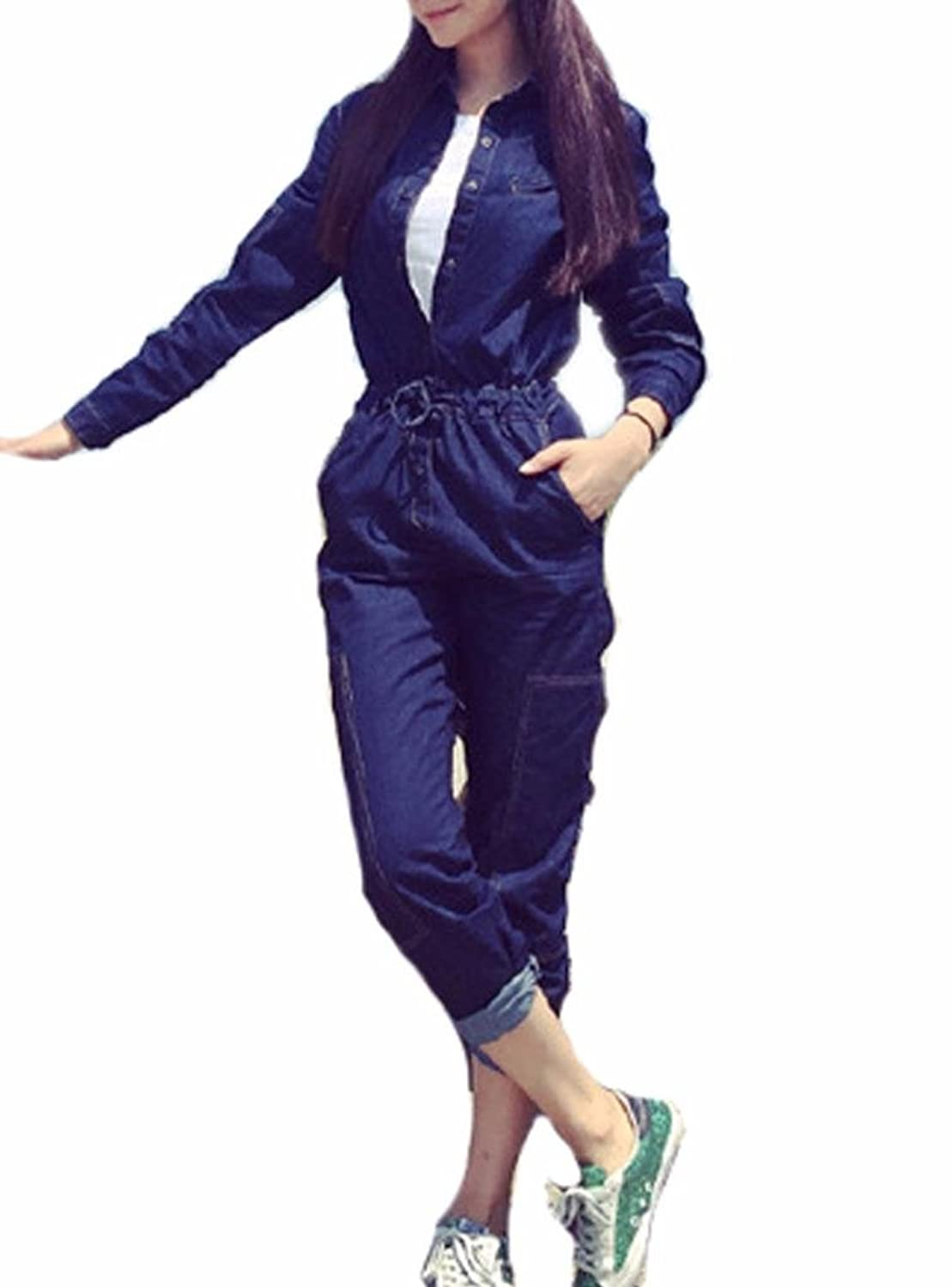 9131e005842 Denim Jumpsuit Womens With Sleeves - Gomes Weine AG