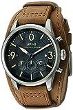AVI-8 Men's AV-4024-08 Lancaster Bomber Analog Display Japanese Quartz Brown Watch