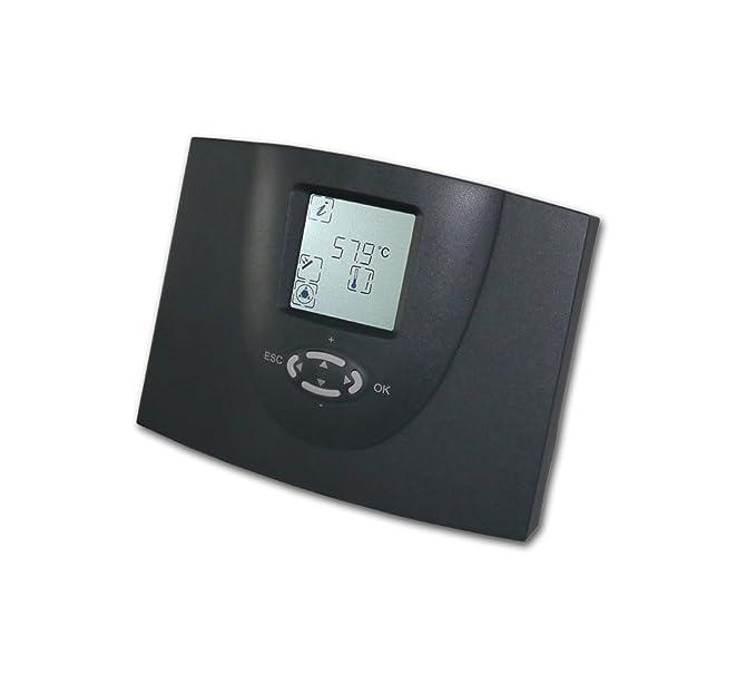 Regulador térmico diferencial SDC 204, Termostato para instalaciones térmicas solares: Amazon.es: Bricolaje y herramientas
