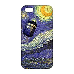 Doctor Who blue box 3D Phone Case for iPhone 5s