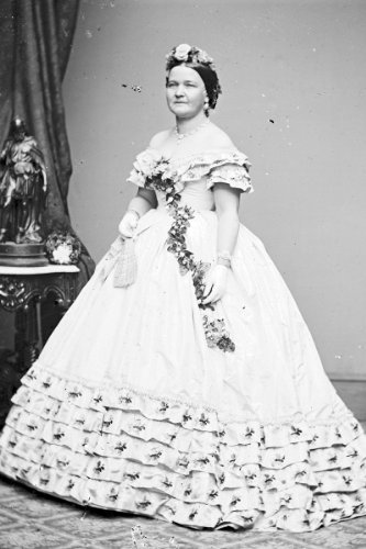 New 5x7 Photo: First Lady Mary Todd, Abraham Lincoln Wife