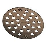 Moen 102763ORB Kingsley 4-Inch Screw-In Shower Strainer, Oil Rubbed Bronze