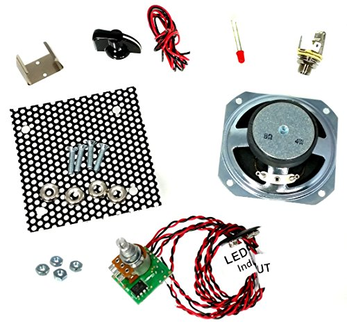 Great 2.5-watt Parts-Only Cigar Box Amplifier Kit by C. B. Gitty
