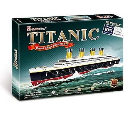 Piezas771t4012 Puzzle 3d Del Titanic35 Barco Cubicfun 4Sc3jLR5qA