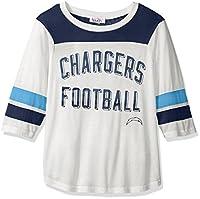 Touch by Alyssa Milano NFL San Diego Chargers Women's Gridiron Tee, White, Medium