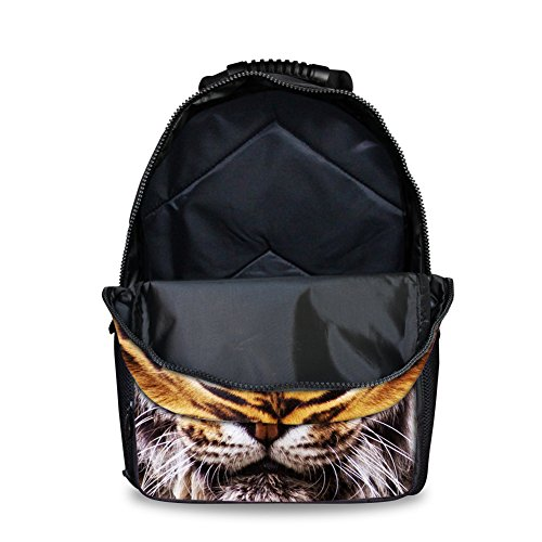 Showudesigns tiger Fashion Bags Tiger Animal Head Softback School with set Backpack rrWaTqcH