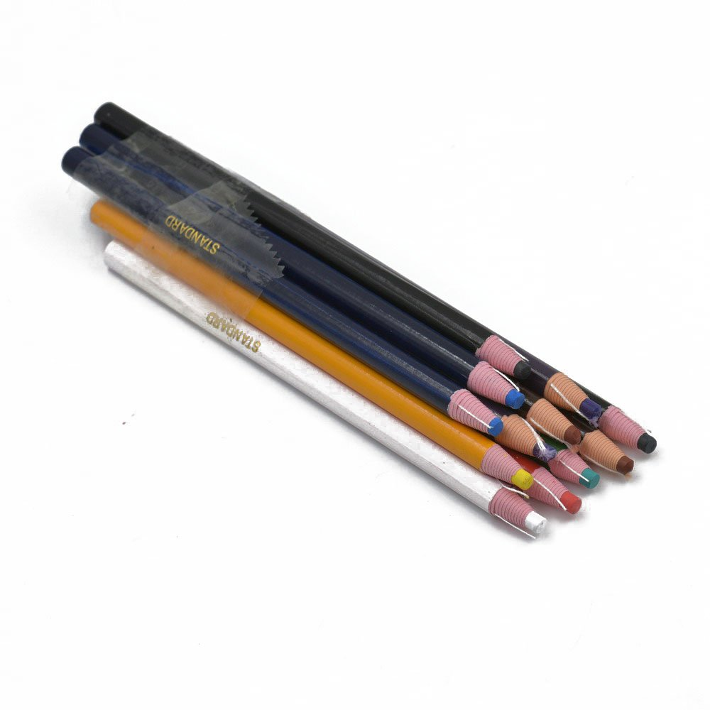 1 Set Purple Peel Off China Marker Grease Pencil For wood Metal Cloth Wax Grease hanhanlop