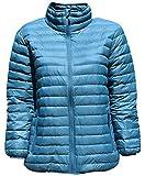 SportCaster Women's Plus Size Packable Down Jacket (3X, Lagoon)