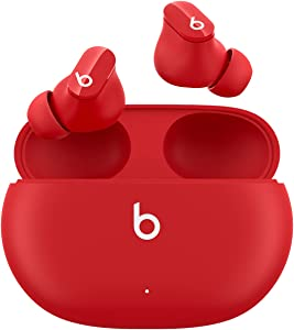 New Beats Studio Buds – True Wireless Noise CancellingEarbuds– Compatible with Apple & Android, Built-in Microphone, IPX4 Rating, Sweat Resistant Earphones, Class 1 BluetoothHeadphones - Red