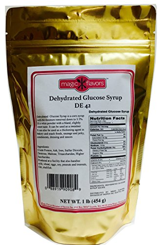 Magic Flavors Dehydrated Glucose Syrup Solids DE 42, 1 Lb