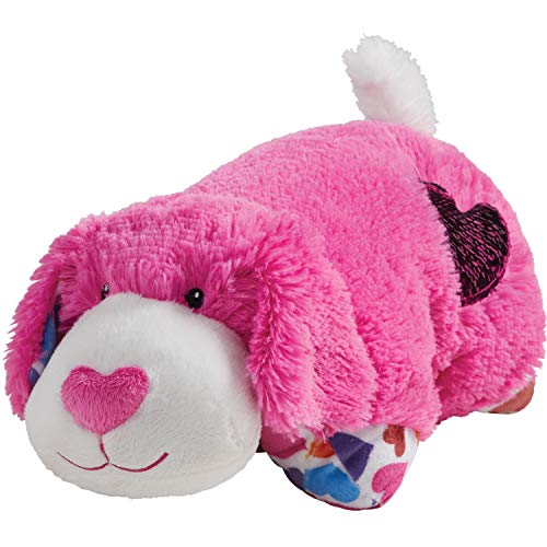 Pillow Pets Valentine Hot Pink Pup 11""