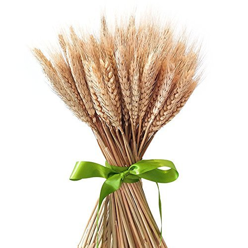 Ramo de hierba seca de Uthome, ramo artificial realista, flores, trigo, tallos artificiales, flores secadas al natural, para decoración de bodas, fiestas, ...