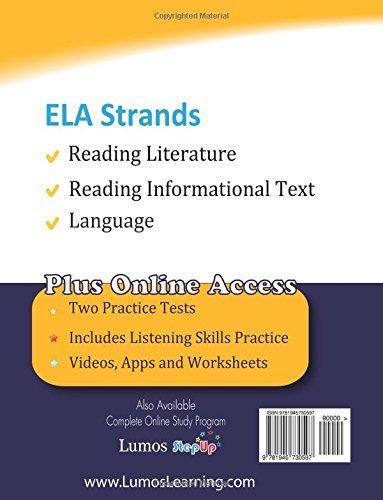 Florida Standards Assessments Prep: Grade 8 English Language Arts ...