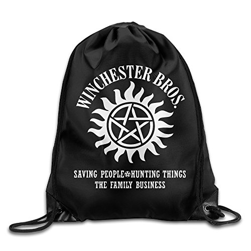Price comparison product image Supernatural Winchester Brothers Sport Backpack Drawstring Print Bag