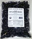 ZOT Firm Chewy Licorice Beads, 2.2 Pound