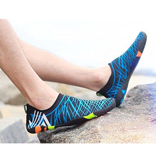 Mens Swim lightweight 14 Water Water Exercise Aqua KOBWA Shoes Drainage Beach Quick for Shoes Womens Surf Fashion Dry Ultra Barefoot Socks Beach Shoes Swim with Yoga Unisex Swim Holes qHExOXw