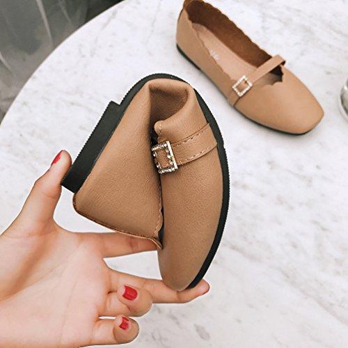 Antidérapante Femme 40 Printemps Confort à Chaussures de Mocassins 35 Casual JRenok Résistant L'Usure TvnSq7
