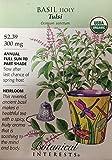 Organic Tulsi Holy Basil Seeds - 300 mg - Heirloom