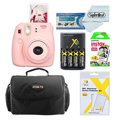 Fujifilm Instax Mini 8 Instant Film Camera  With Fujifilm In