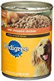 PEDIGREE Meaty Ground Dinner With Chopped Chicken Canned Dog Food 13.2 Ounces (Pack of 24) For Sale