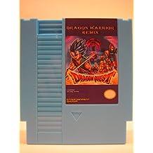 Dragon Warrior Remix 9 in 1 Super Games NES Cartridge - SOLID BLUE - 8-Bit 72-Pin Multi Cart