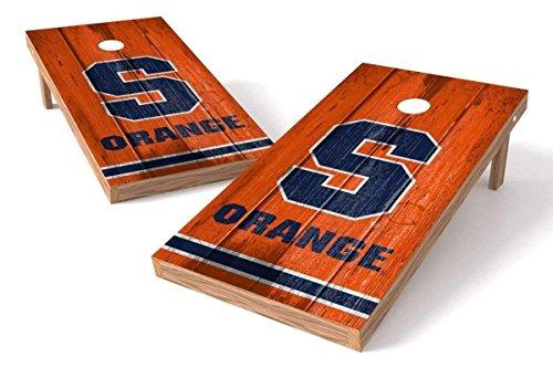 PROLINE NCAA College 2' x 4' Syracuse Orange Cornhole Board Set - Vintage