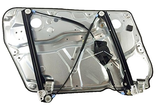 AUTOPA 3B1837462 Front Right Passenger Side Window Regulator with Panel for 98-05 Volkswagen Passat