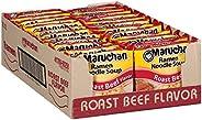 Maruchan Ramen Roast Beef, 3 Ounce (Pack of 24)