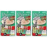 INABA CIAO Churu Urinary Care Cat Lickable Puree Creamy Cat Treat, Original Japan Cat Snacks 3 Pack 12tube X 14g (Tuna)