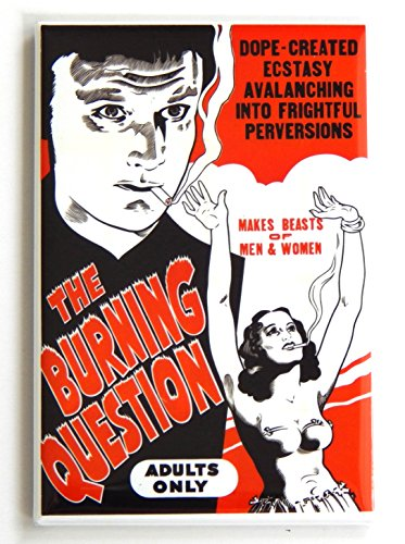 The Burning Question Movie Poster Fridge Magnet