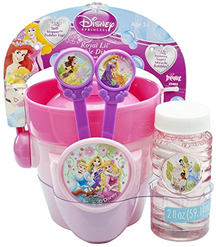 Princess Bucket Set (VILLA GIOCATTOLI 25402 Soap Bubbles Princess Bucket Set, Multi-Colour, One Size)