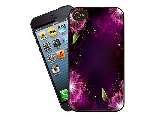 Blume Design 010 Telefon Fall - passen diese Abdeckung Apple Modell iPhone 5 / 5 s (nicht 5c) - von Eclipse-Geschenk-Ideen