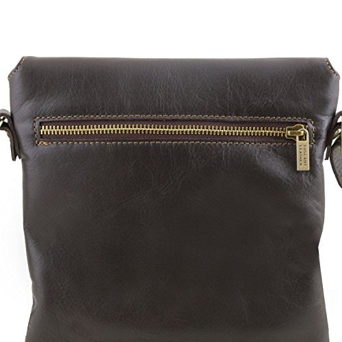 Leather Black Shoulder Morgan Cognac Bag Tuscany UqBpdwB