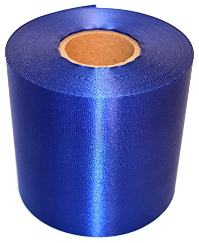 Blue Ceremonial Grand Opening Ribbon 50 Yard Length and 4 inch Wide by Wonder Clothing (Image #1)