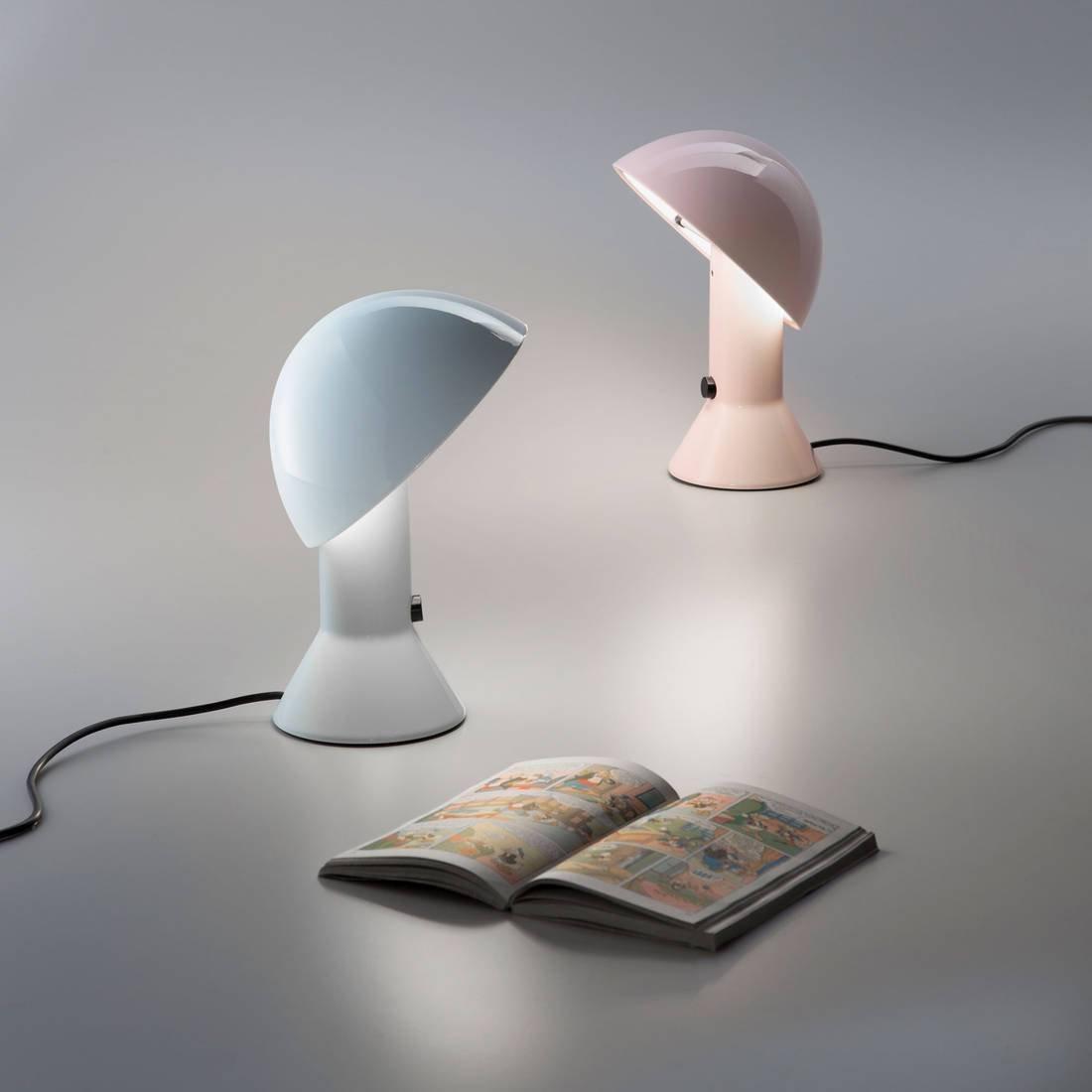 Luce Poser Pastel À Designé Lampe Rose Martinelli H28cm Elmetto dsQrht