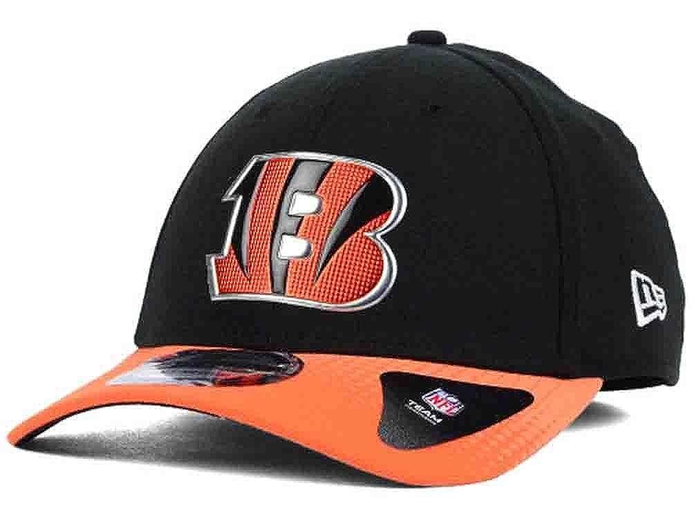 New Era NFL Cincinnati Bengals 2015 NFL Draft Day Flexfit Hat Cap  Medium Large at Amazon Men s Clothing store  df86e42b50f