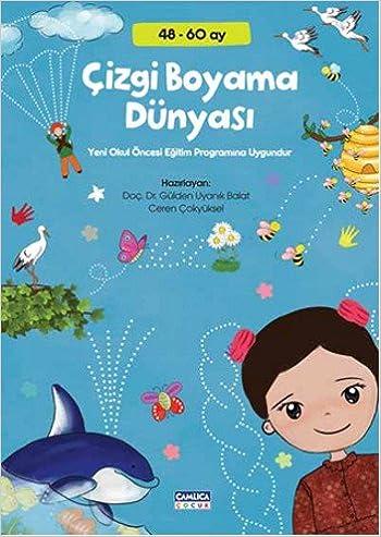 Cizgi Boyama Dunyasi 9786055101091 Amazoncom Books