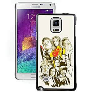Beautiful And Unique Designed Case For Samsung Galaxy Note 4 N910A N910T N910P N910V N910R4 With quentin tarantino 1 Phone Case