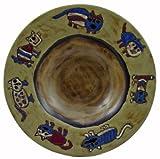 Mara Ceramic Stoneware 12 Inch Cats Pasta Bowl