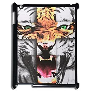 Tiger Roar Cross ZLB514696 Brand New Case for Ipad 2,3,4, Ipad 2,3,4 Case