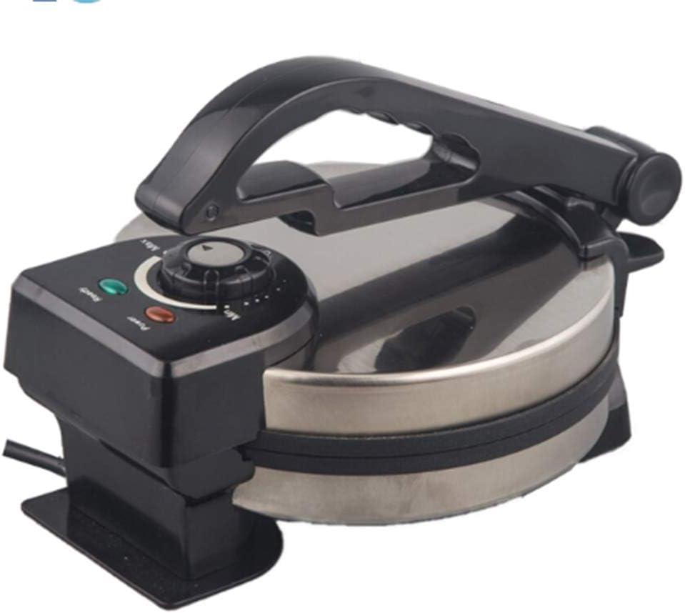 YBZS 8 inch Non-Stick chapati Tortilla roti Maker Automatic roti Making Machine Pancake Maker Crepe Maker with CE