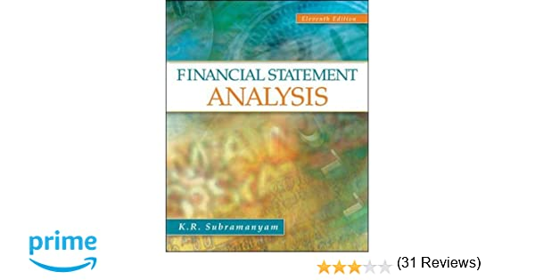 Financial Statement Analysis: K. R. Subramanyam Associate