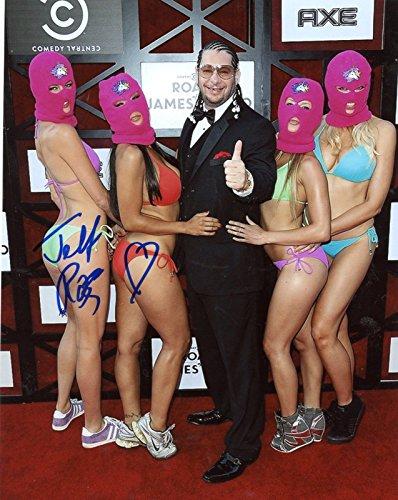 JEFF ROSS ROAST AUTOGRAPHED SIGNED 8X10 PHOTO