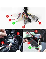 CHULONG Automatic 4- Door Car Power Window Closer Module Kit Fit for Jeep Grand Cherokee 2014-2020 15 2016 17 2018 2019 WK2 Accessories (Color : with Mirror Folding)