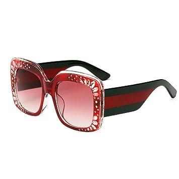 2018 nuevos vidrios de la manera gafas de sol cuadradas del ...