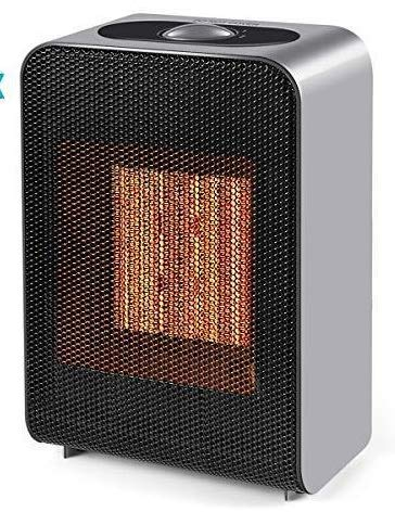 Ceramic Joy (Joy & Net Portable MINI Ceramic Heater, 750/1500W with Adjustable Thermostat, For Home & Office (GD9215AD5, Silver))